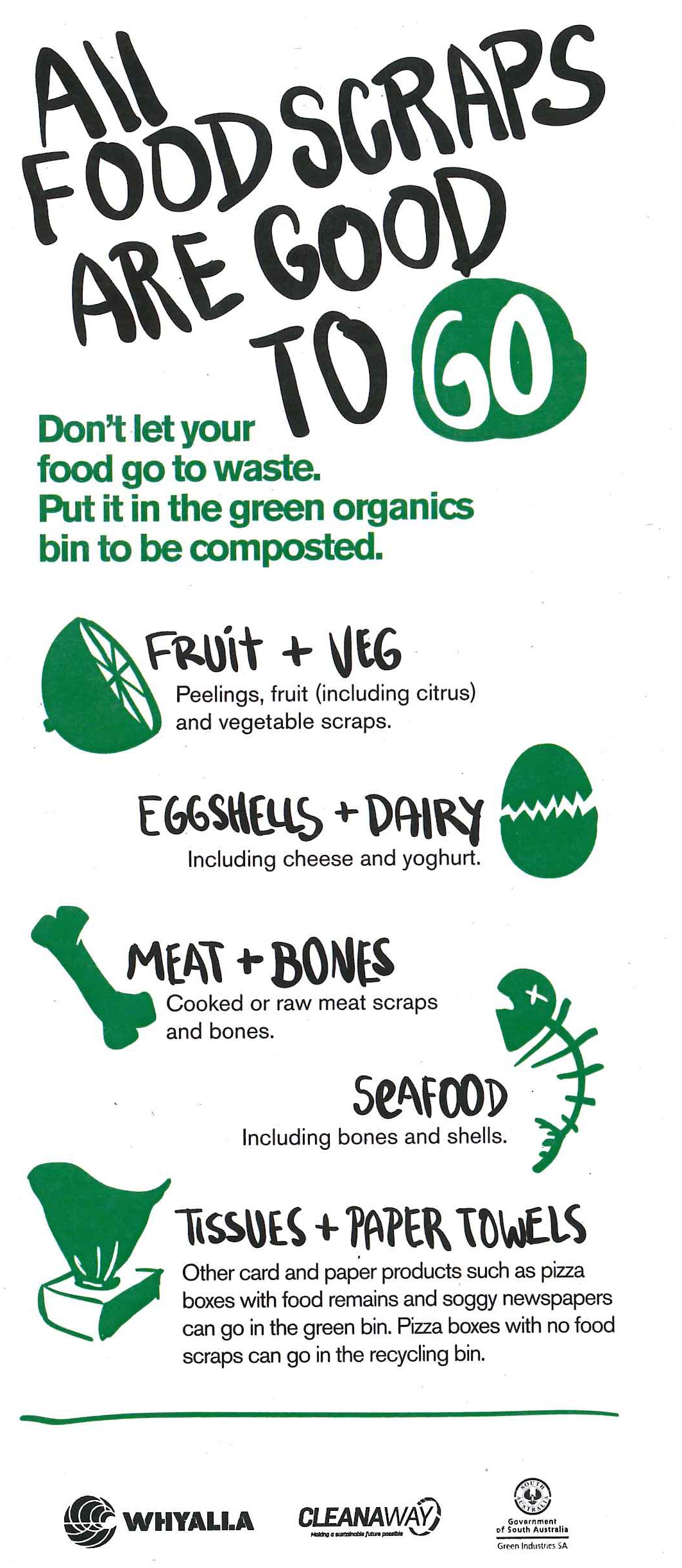 All Food Scraps Are Good To Go