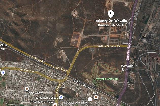Veolia Waste Transfer Station location